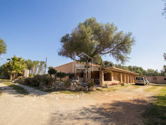 Stables conversion just outside San Clemente, Menorca