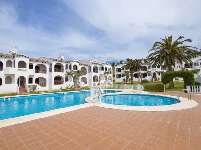 Apartment with sea views, Son Bou, Menorca