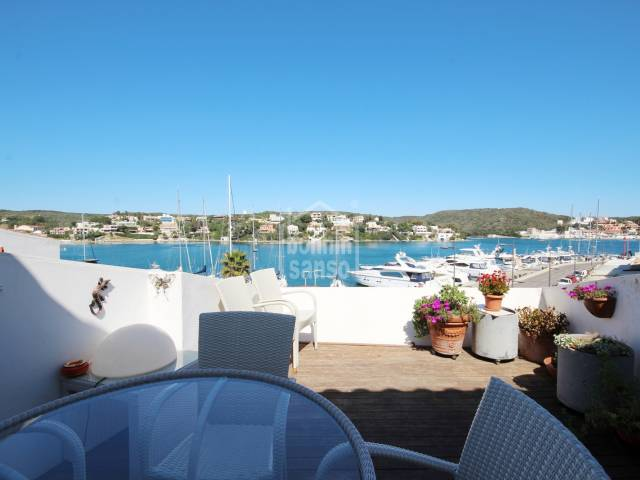 Penthouse located in the Port of Mahon with incredible views