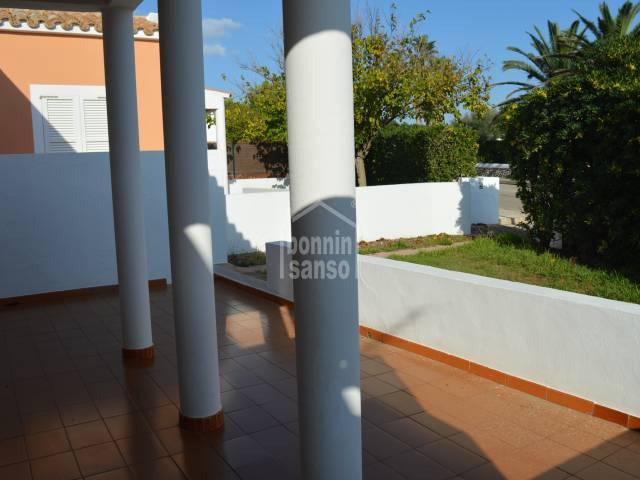 Apartment with private plot in Son Xoriguer, Ciutadella, Menorca