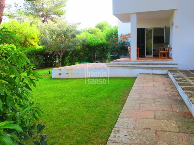 Ground floor apartement with large garden, Coves Noves, Menorca
