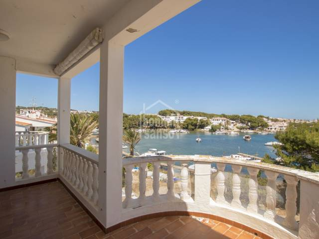 Picturesque waterfront apartment in Addaya, Menorca