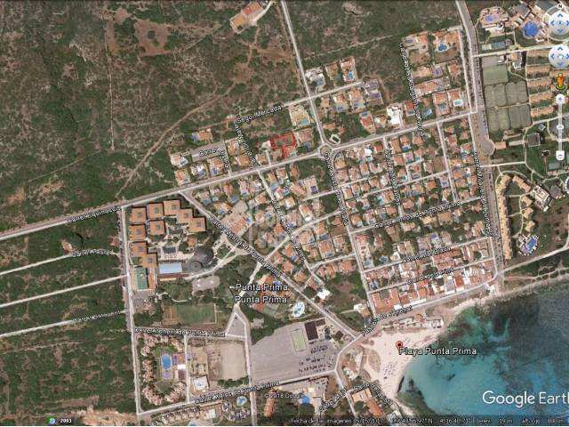 Great opportunity, building plot in Punta Prima