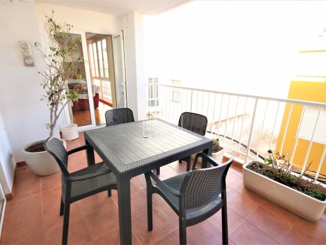 Terrace - Spectacular second floor apartment close to the centre of  Ciudadela, Menorca