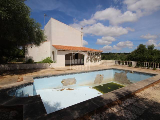 Villa with pool in Calan Porter, menorca