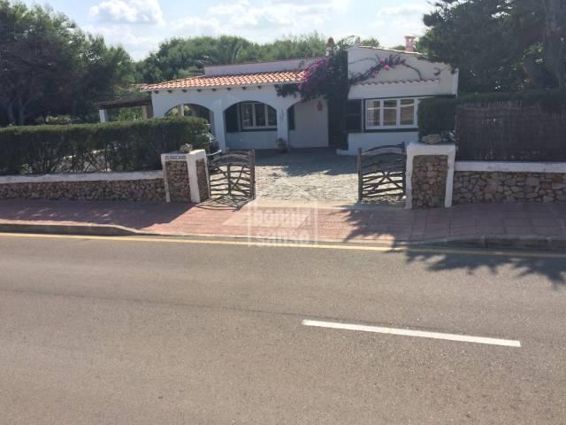 Attractive villa close to Arenal D'en Castell beach