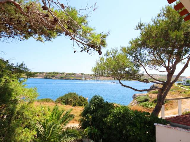 Duplex apartment with views of the Port of Mahon in Sol Del Este,Menorca