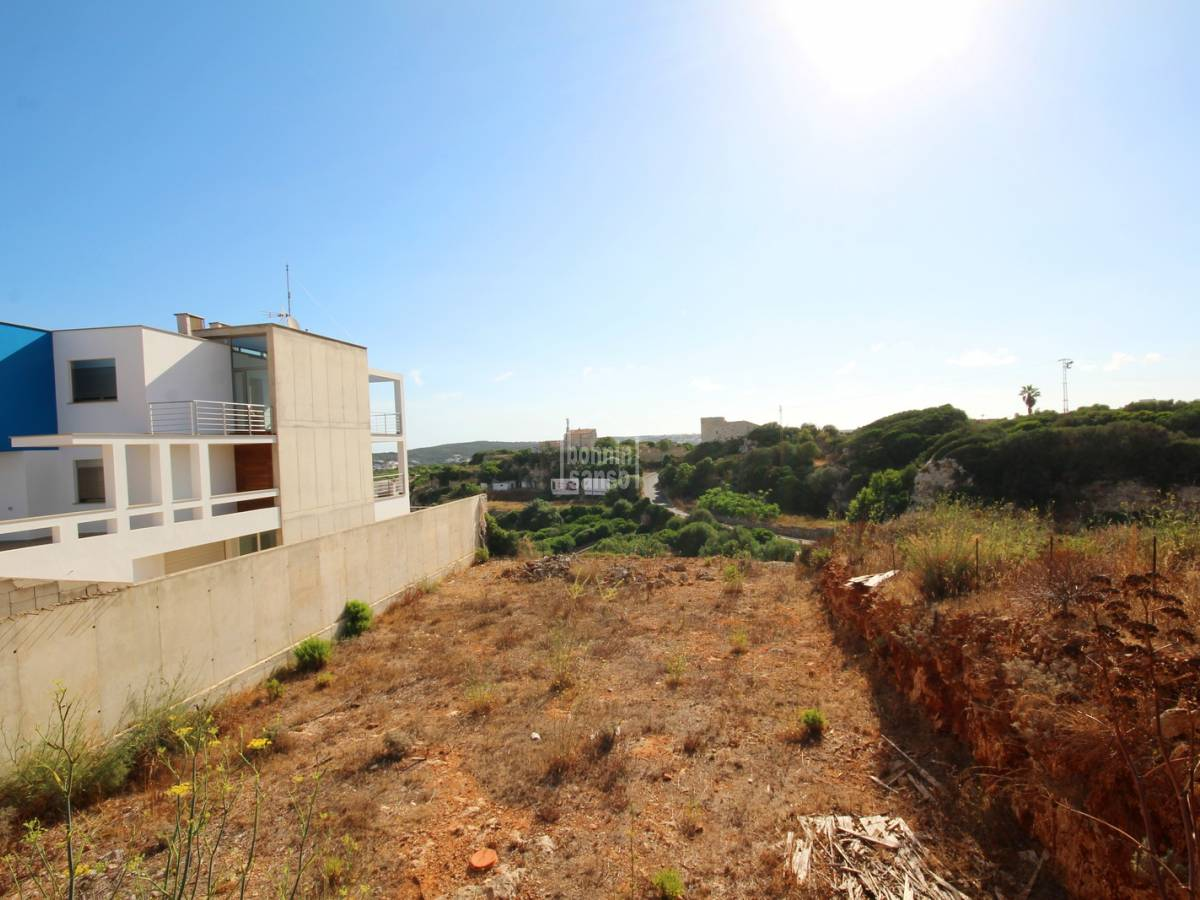 Buy building plot located in a residential area of mahon for Builders in my area