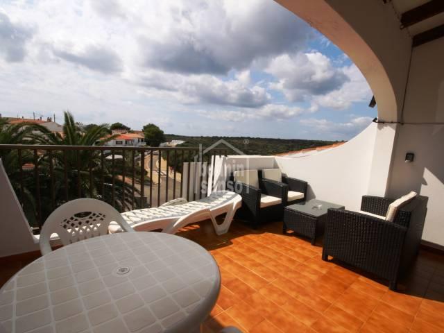 Penthouse flat in Calan Porter, Menorca