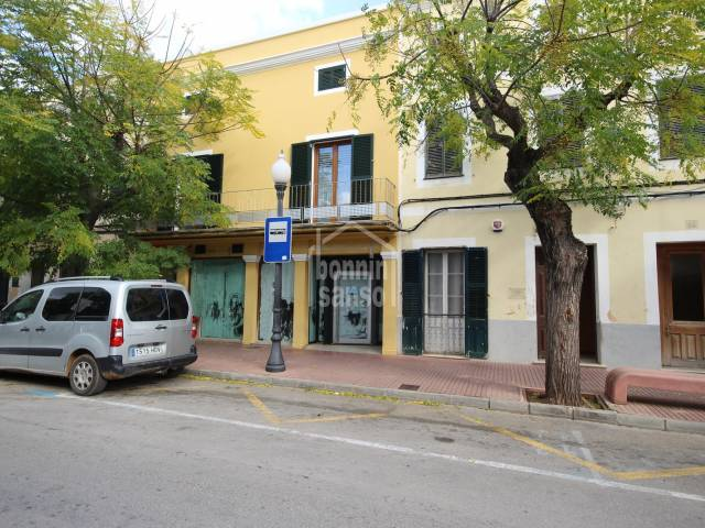 Commercial premises in central street of Ciutadella