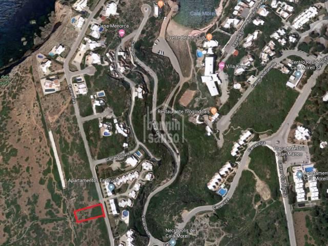 Fantastic plot near the viewpoint and the beach, Cala Morell, Ciutadella, Menorca