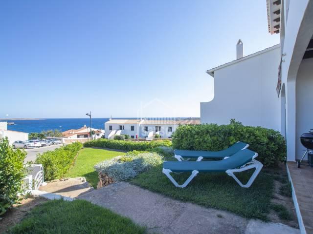 Apartamento planta baja en una esquina con vistas al mar, Arenal d'En Castell, Menorca