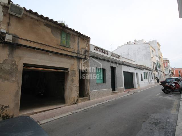 Front, Garage - Building/ warehouse, space for big vehicles in Mahon. Menorca