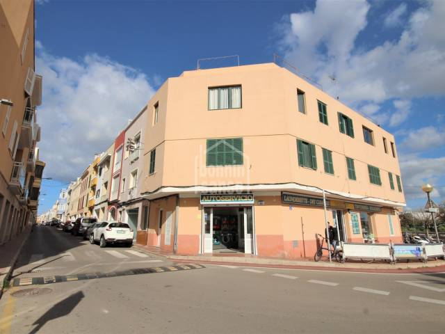 Primer piso todo exterior, orientación sur, Ciutadella, Menorca