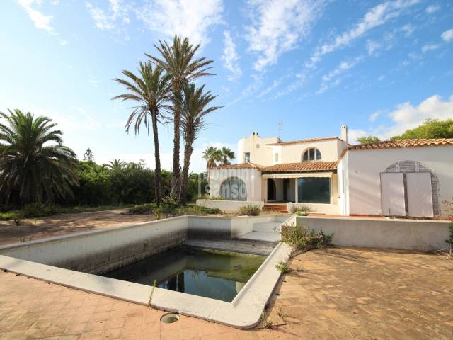 Magnificent villa to be reformed in Son Blanc, Ciutadella, Menorca