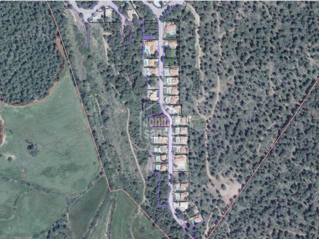 Plot of building land in Son Parc in Menorca.