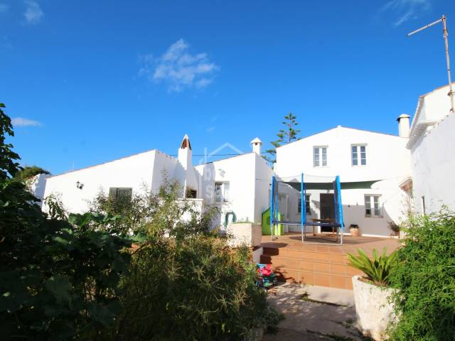 Reformed farmhouse in the village of Torret, Sant Lluís. in the southen area of Menorca