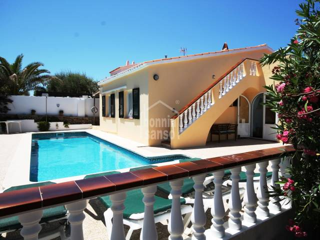 Well kept single storey villa, Addaya, Menorca