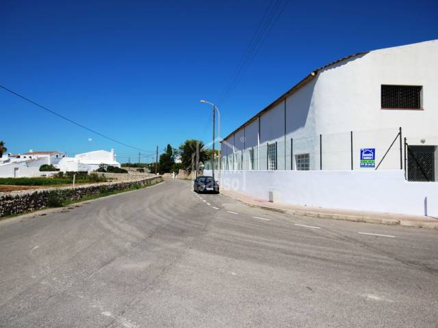 Alquiler con opción de compra !!! Nave Industrial en Es Castell, Menorca
