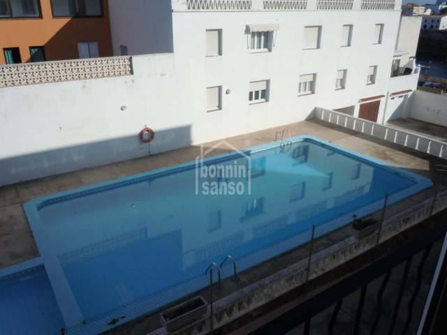 First floor apartment in Es Castell