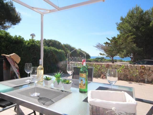 Chalet semi-adosado con vistas al mar en Son Xoriguer, Ciutadella, Menorca