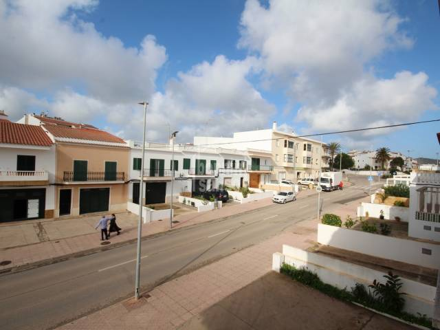 Spacious first floor apartment in Es Migjorn, Menorca.