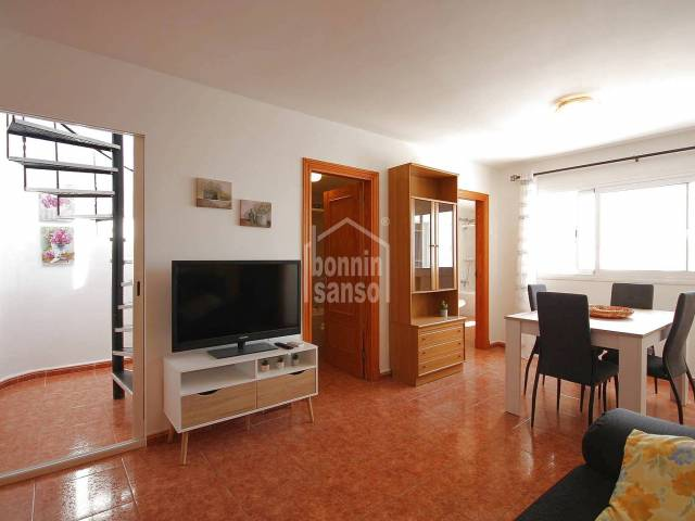 Flat with large terrace in Ciutadella, Menorca.