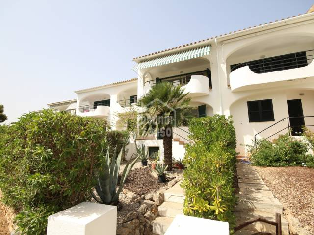 Duplex with communal pool in Coves Noves, Menorca