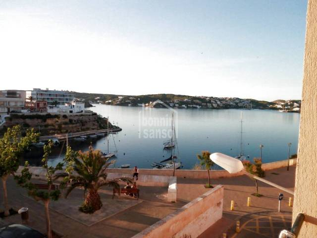 Front line flat in Es Castell with views over Cala Corb & the Port of Mahon. Es Castell. Menorca