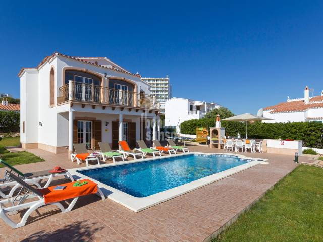Villa with a fantastic view of Arenal den Castell beach, Menorca