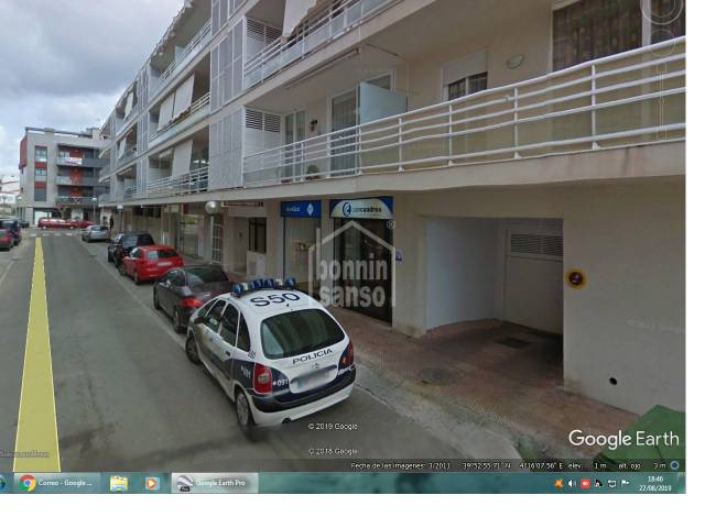 Parking space and store room, Mahon, Menorca