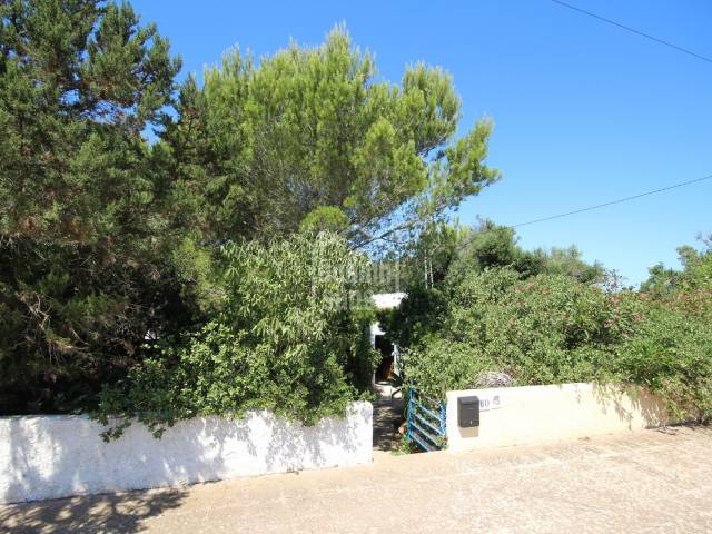 Two bedroom villa in Calan Porter, Menorca