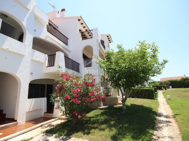 First floor apartment in Calan Porter , Menorca