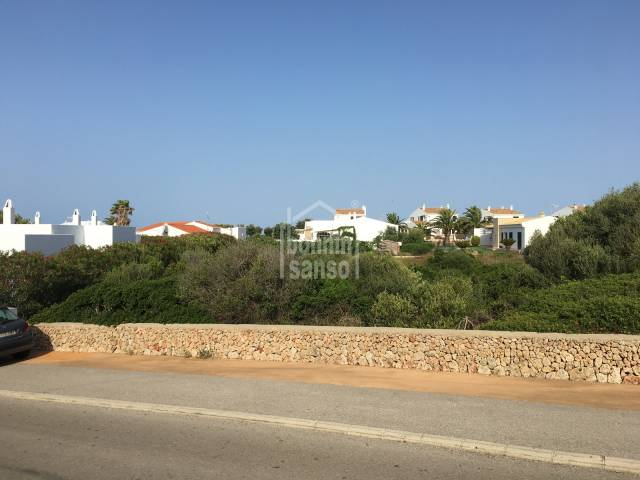Plot of 1,233m² in the quiet and highly desired area of Binidali on the south coast of the island