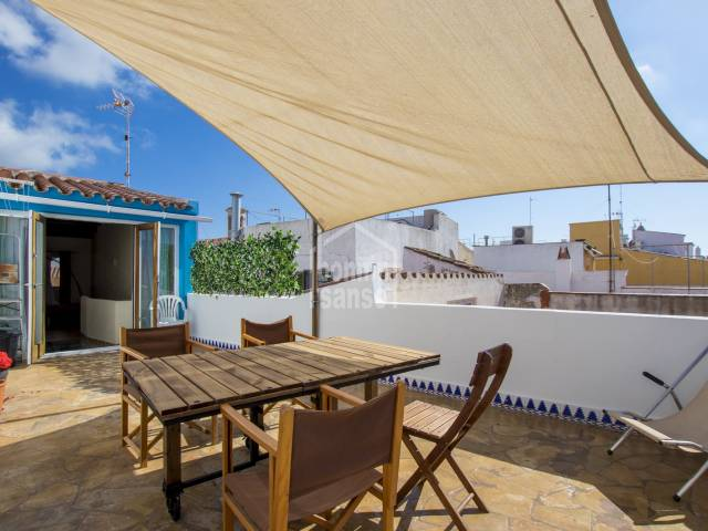 Wonderful First Floor Town house in the centre of Mahon, Menorca