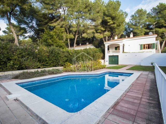 Villa avec piscine à Son Parc