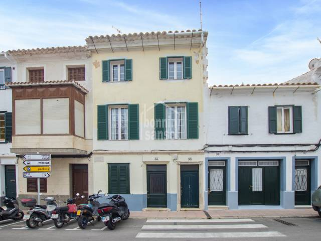 Charming town house in the heart of town, Mahon, Mneorca