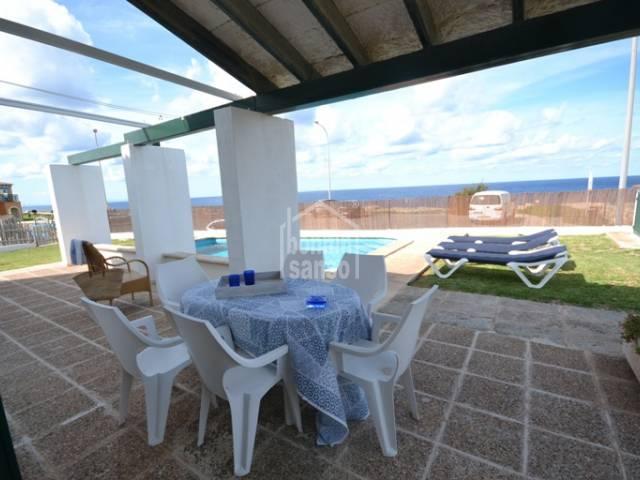 Primera linea en Calas Picas, Ciutadella, Menorca