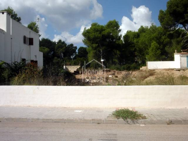Building plot, very close to the sea in Son Serra De Marina,Mallorca