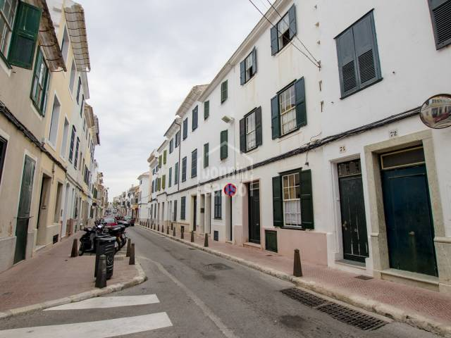 Magnificent three storey town house in the center of Mahon, Menorca