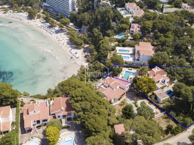 Magnificent villa in a prime position in Cala Galdana, Menorca