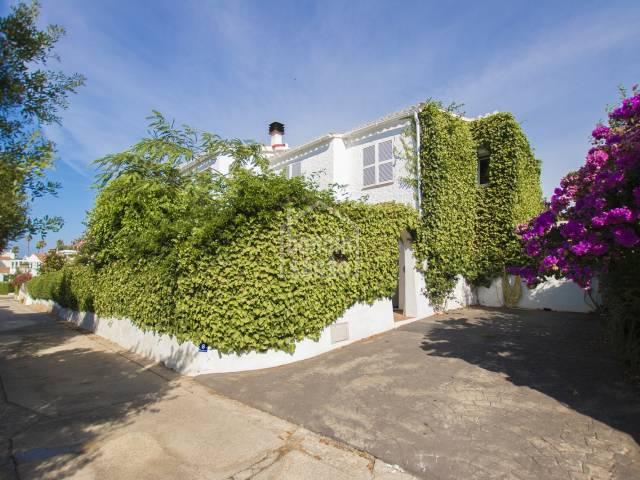 Preciosa villa en Salgar Menorca
