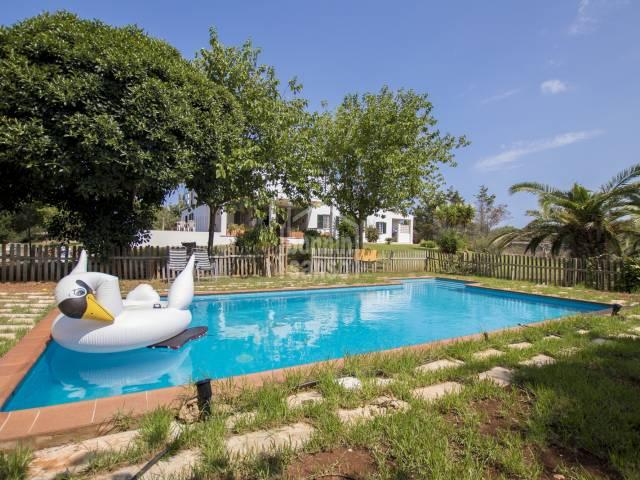 Casa de Campo en Llumesanes Menorca
