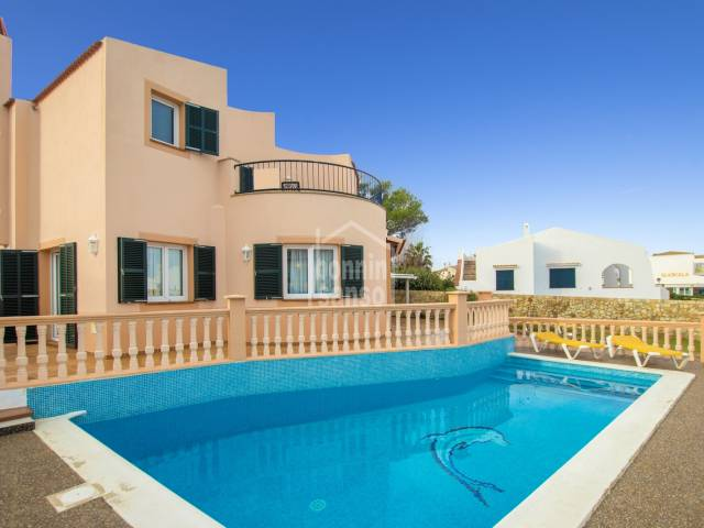 Elegant villa with pool in Cala Blanca, Ciutadella, Menorca