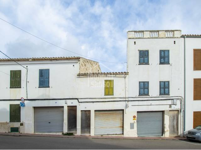 Group of warehouses sold together for development project, Alayor, Menorca
