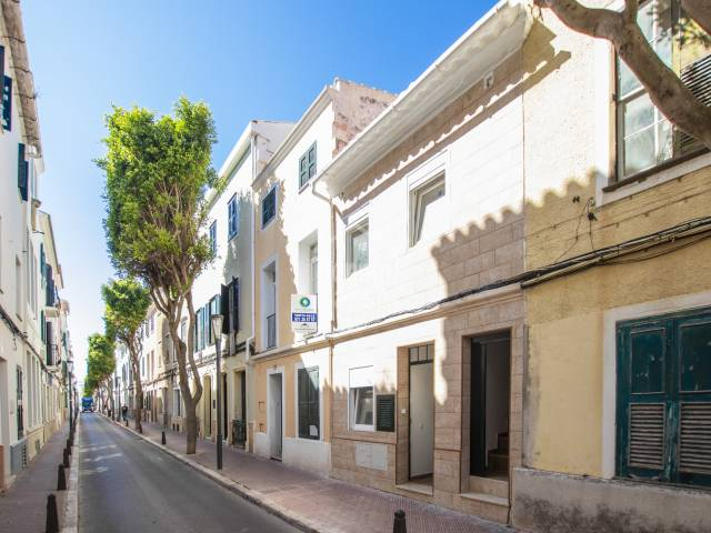 Town house divided into two dwellings, centre of Mahon, Menorca