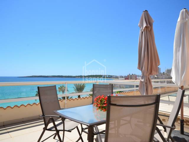 Penthouse, frontline in Cala Millor, Mallorca