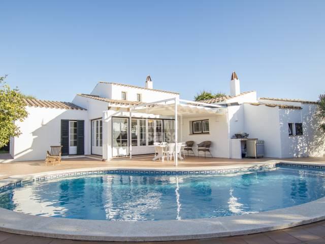 Oportunity stunning villa in Trebaluger Es Castell Menorca