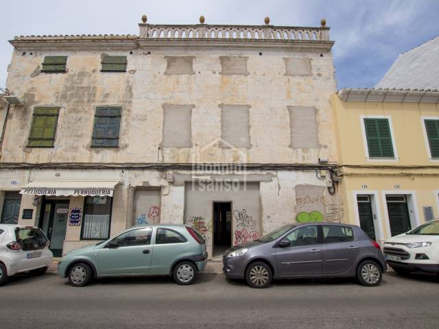 Grand town house for refurbishment, Mahon, Menorca