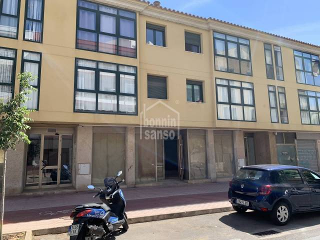 Business premises located in a residential area of Mahon, Menorca